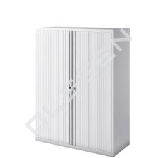 BISLEY Roldeurkast inclusief 3 legborden (H.135 x B.100 cm)