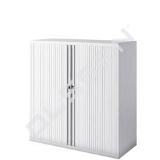 BISLEY Roldeurkast inclusief 2 legborden (H.105 x B.100 cm)