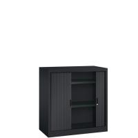 BASIC Roldeurkast inclusief 2 legborden (H.105 x B.100 cm)