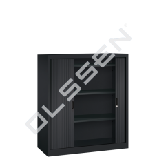 BASIC Roldeurkast inclusief 3 legborden (H.135 x B.120 cm)