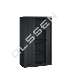 BASIC Roldeurkast inclusief 4 legborden (H.160 x B.100 cm)