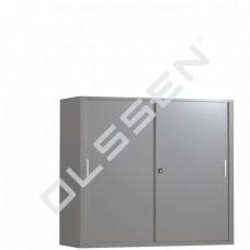 BASIC kantoor schuifdeurkast met 3 legborden (120 x 160 cm)